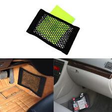 Car Rear Cargo Organizer Storage Elastic String Net Mesh Bag Pocket Black Trunk