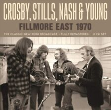 Crosby Stills Nash & Young - Fillmore East 1970 (2cd) NEW 2 x CD