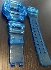 For G-shock GX-56  transparent blue jelly bezel and strap