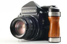 【MINT+++】 PENTAX 67 TTL Late Model w/ SMC P 67 105mm F/2.4 + Grip JAPAN #0588