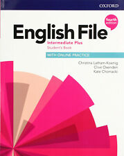 Oxford ENGLISH FILE Intermediate Plus STUDENT'S BOOK 4th Edit 9780194038911 @New