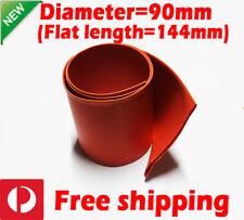 120pcs X 10cm Heat Shrink Tube Heatshrink Tubing Sleeving Red Black AU Stock