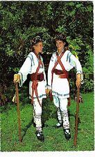 """Romania 1960s Calusari Dancer in Folk Costume,Oltenia Region,""""KRUGER"""" Publischer"""