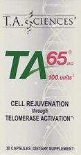 TA-65 (100 Units), 30 Capsules Telomerase Support immune health Fresh Inventory!