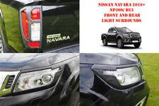 Per Nissan Navara NP300 16 su Styling Accessori Ant. N Posteriore Luce Nera
