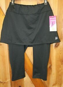 Skirt Sports ~ Lotta Breeze Capri Skirt Skorts ~ Black ~ Women's Medium