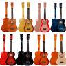 "New 25"" Beginners Kids Acoustic Guitar 6 String w/ Pick Children Student Gift"