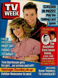 TV Week Magazine - June 20, 1987 - Rare 1980s Australian Television Magazine