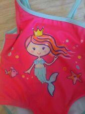 Mermaid Infant 3 - 6 Month Girls Bathing Swim Suit One Piece