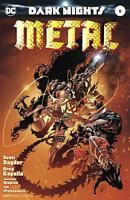 Dark Nights Metal #6 1st Print Kubert Variant Batman MAN Who Laughs COVER A