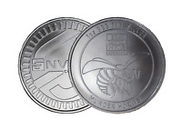 1 oz Envela 0.999 Silver Round - Murder Hornet Symbol - June 2020 Edition