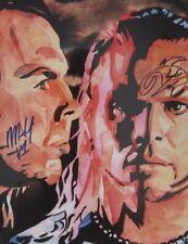 More details for hardy boys 18 x 24 print, poster painting wwe tna wwf wrestling matt jeff hardyz