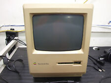 Vintage Apple Macintosh Plus M0001A Unit Powers On and Shows Picture