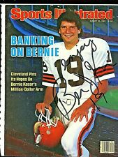 Bernie Kosar Autographed Signed Sports Illustrated Cleveland Browns