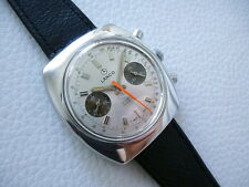"Beautiful Vintage LANCO ""Panda"" Chronograph Men's dress watch from 1970's years!"