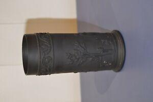 Wedgwood Black Basalt Spill Vase