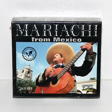 MARIACHI FROM MEXICO 3 CD box set Laserlight 1998 NEW