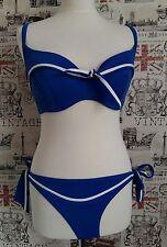 La Senza Blue Sailor Bikini Size 12 UK summer/holiday