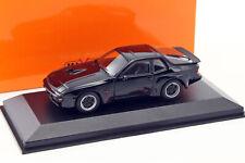 Porsche 924 GT Baujahr 1981 schwarz 1:43 Minichamps