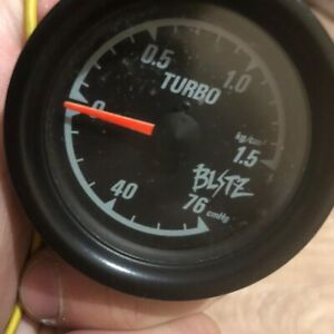 Blitz boost gauge turbo OLD logo Mechanical 52mm Toyota Nissan Honda