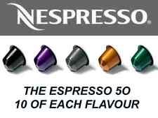 THE ESPRESSO 5O *Top 5 Espresso Nespresso Capsules*  (1 Sleeve Per Flavour)