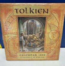 Tolkien The Hobbit Vintage 1999 Calendar and Poster Allen Lee