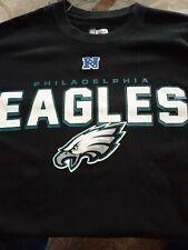 NFL team apparel,  Black Philadelphia Eagles Tee Shirt. Size large.