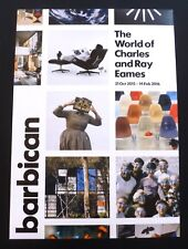 Charles and Ray Eames - The world of...   2015 ART EXHIBITION POSTER