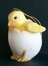 1987 Schmid Gordon Fraser Chick in Egg Ornament Collectible 2.75�