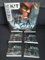N-Gage X-Men Legends-Rare Media Kit: Promo-factory sealed! W/ promo stickers!