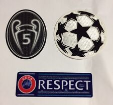 Liverpool FC Bayern Munich Champion League Respect Sleeve Soccer Patch Badge