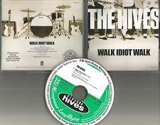 THE HIVES Walk Idiot Walk RARE 2004 USA PROMO Radio DJ CD single MINT INTR 26120