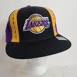 LA Los Angeles Lakers NBA Team Headwear Reebok Wool Hat Cap 7 1/2