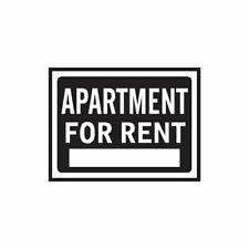 Apartment For Rent Business - Decal Sticker - Multiple Colors & Sizes - ebn4003