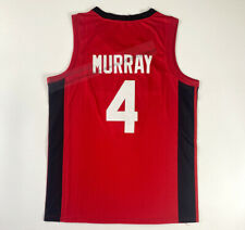 New Jamal Murray #4 Team Canada Basketball Jerseys Stitched Custom Name Numbers