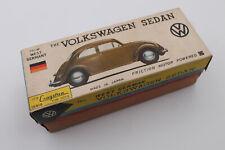 Rare! NOSS 1960s Cragston Volkswagen Beetle B/O Tin Litho Toy VW Car Rare Color