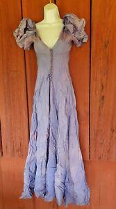 1920's 1930s Vintage Ladies Ball Gown Cinderella Lavender Purple Taffeta