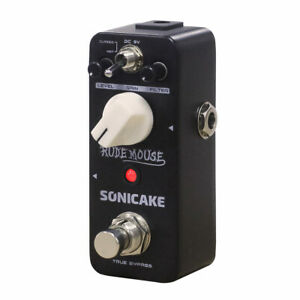 SONICAKE Rude Mouse Underground Overdrive Distortion Fuzz Guitar Effects Pedal