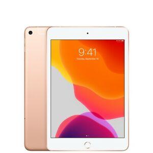 Apple iPad Mini (5th Generation) 64GB, Wi-Fi + 4G (Unlocked), 7.9in - Gold