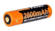 Batteria FENIX 18650 litio ricaricabile ARB-L18-2600
