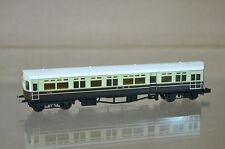 LANGLEY N SCALE KIT BUILT GW GWR CHOCOLATE CREAM AUTOCOACH No 172 180 MINT mz