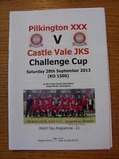 28/09/2013 Pilkington XXX v Castle Vale JKS [Midland Combination Cup] .  Any fau