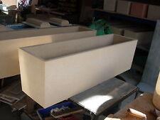 Pots Rectangular 1200mm length 360mm hgt Sandstone   $120ea Rec Retail $185-
