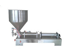 liquid&paste filling machine 10-110ml for cream shampoo/cosmetic/tooth paste S
