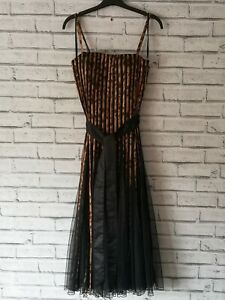 Size 12 (small) Vintage Classy Roman Cocktail Dress