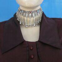 Choker Necklace Vintage Boho Gypsy Kuchi Afghan Fashion Jewelry
