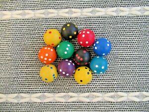 Spherical dice sphere round educational maths resource school teacher game EYFS