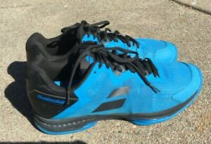 Babolat SFX3 All Court Men's Tennis Shoes Blue & Black Size 12 Pre-Owned