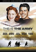 THIS IS THE ARMY - DVD - Region 1 - Sealed