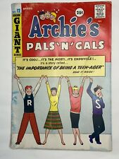 Archie's Pals 'n' Gals Giant #12 (Spring 1960) VG 4.0